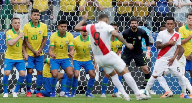 Perú y Brasil se encontrarán en la Copa América de  Argentina y Colombia