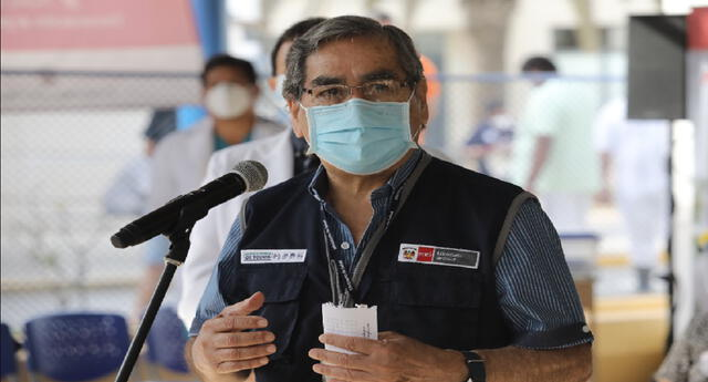 Óscar Ugarte, ministro de Salud, se refirió ante la llegada de una posible tercera ola por la COVID-19 en el Perú.