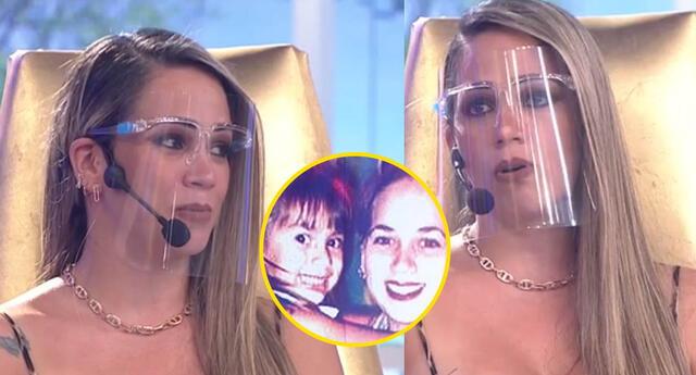 Melissa Klug llora al recordar que se convirtio en madre muy joven.
