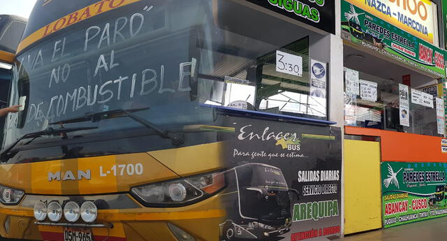 Cierran puertas de terminales de Yerbateros y Atocongo.Cierran puertas de terminales de Yerbateros y Atocongo.