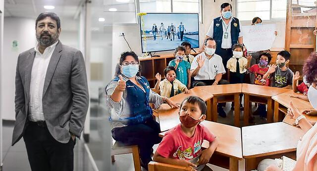 El ministro de Educación se pronunció sobre clases presenciales.