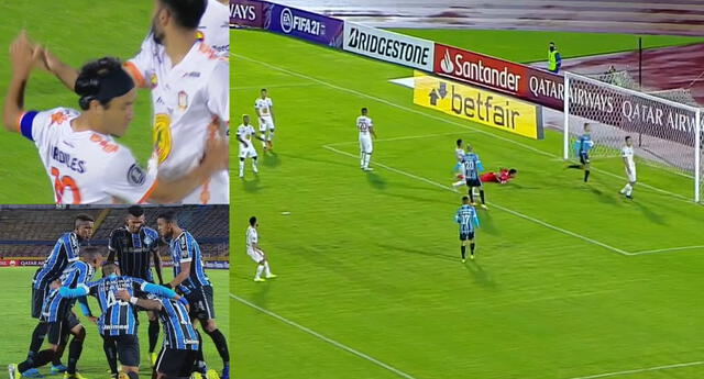 Ayacucho FC y Gremio se enfrentaron por la vuelta de la Fase 2 de la Copa Libertadores.