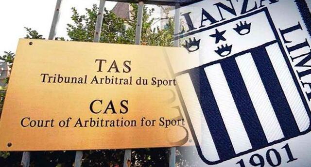 Alianza Lima no baja a Segunda División por el TAS.
