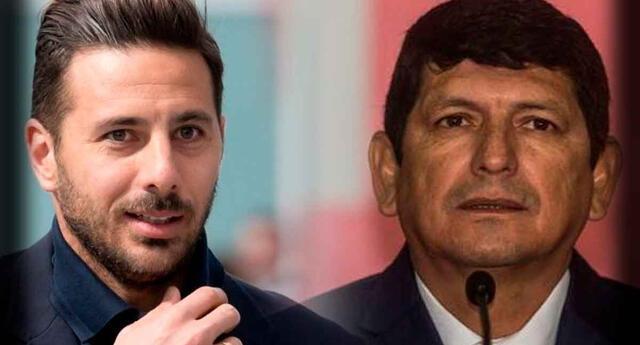 Claudio Pizarro criticó la gestión de Agustín Lozano.