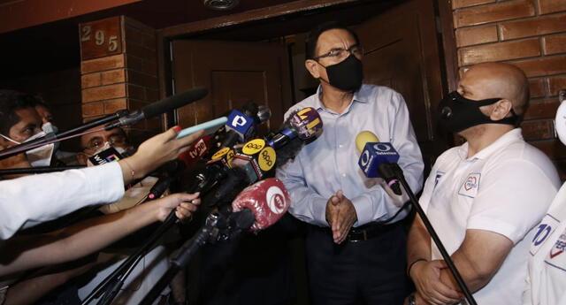 Martín Vizcarra aseguró que continuará con su campaña para llegar al Congreso de la República.