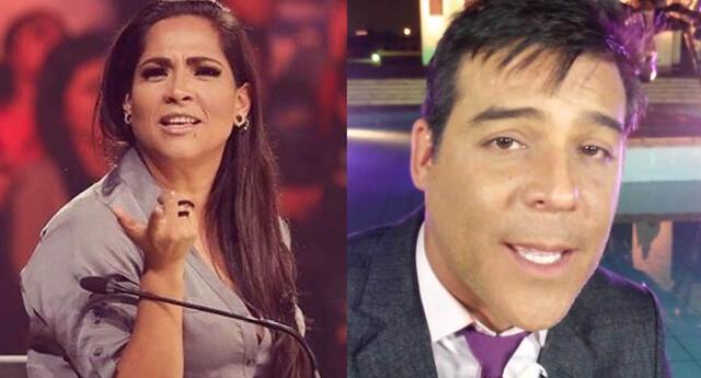 Katia Palma 'pone en su sitio' a Adolfo Aguilar en Yo Soy.