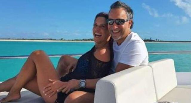 María Pía revela que se complementa bien con su esposo.