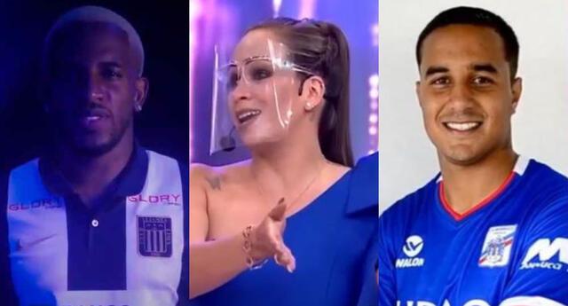 Melissa Klug se refirió a los enfrentamientos que tendrán Jefferson Farfán y Jesús Barco desde Alianza Lima y Carlos Manucci.