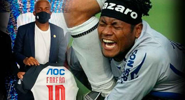 Jefferson Farfán causa revuelo en los hinchas del fútbol peruano.