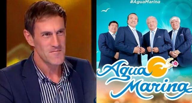 Los imitadores de Agua Marina llegaron al casting de Yo Soy, y Mauri Stern confesó lo mucho que gusta de la cumbia peruana.