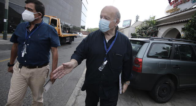 Hernando de Soto reveló que fue inoculado contra el coronavirus en Estados Unidos.