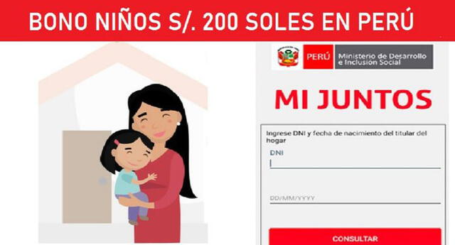 Bono Niños 2021: ¿mi hogar debe estar registrado en Mi Juntos para recibir subsidio?
