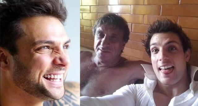 Nicola Porcella dio a conocer que su papá está entubado y a la espera de una cama UCI tras contagiarse de COVID-19.