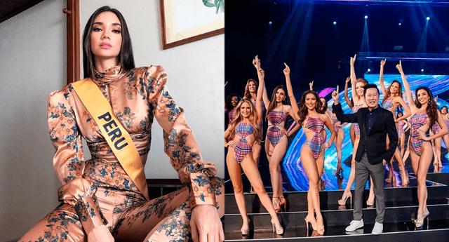 Maricielo Gamarra quedó entre las 20 favoritas en el Miss Grand International