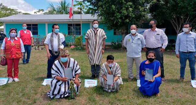 Minedu  entregó más de 20 mil tablets para Ucayali