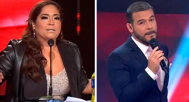 Katia Palma y Adolfo Aguilar pusieron paños fríos tras discusión.