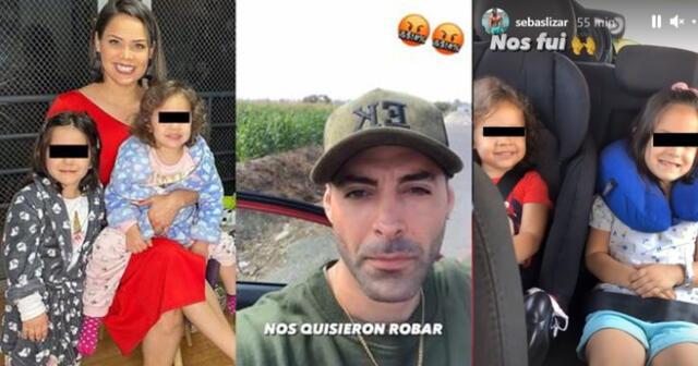 Sebastián y Andrea San Martín sufren intento de robo.