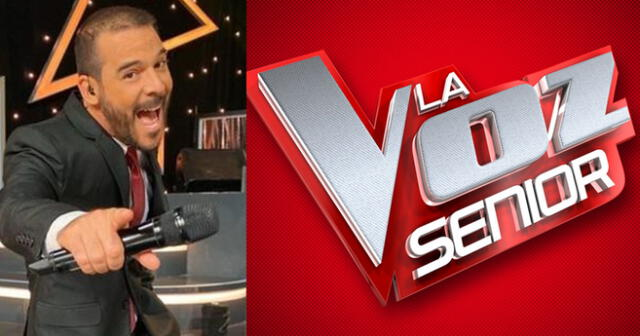 Adolfo Aguilar anuncia estreno de 'La voz Senior'.