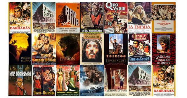 20 películas célebres para ver en familia durante esta Semana Santa.