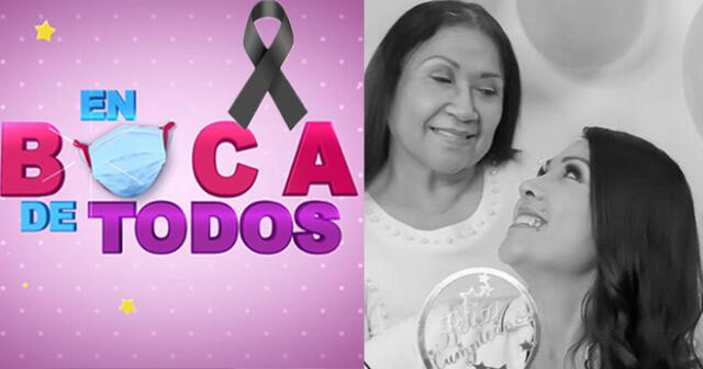 Programa de hoy  'En boca de todos' será grabado por luto de la conductora Tula Rodriguez.