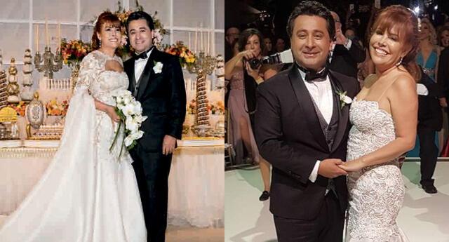 Magaly Medina anunció el fin de su matrimonio con Alfredo Zambrano, con quien llevaba más de 4 años de casados.