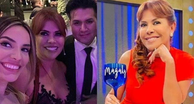 La hija de Jessica Newton, Cassandra Sánchez, celebró los 58 años de Magaly Medina haciendo referencia a su soltería en sus redes sociales.