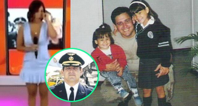 La modelo Andrea San Martín reconoció que extraña mucho a su padre, quien falleció cuando ella era solo una adolescente.