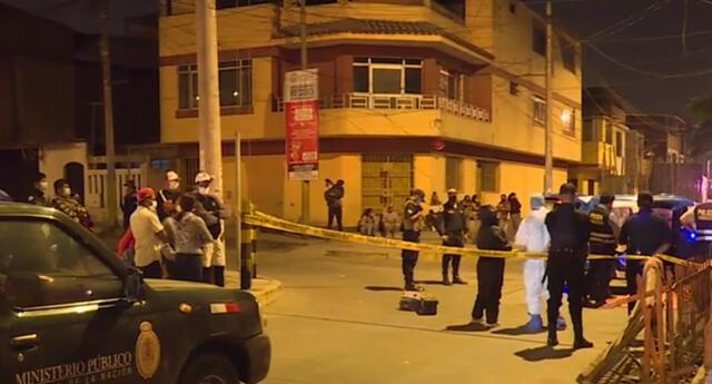 Disparan a adolescente en Villa El Salvador.