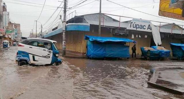 Según señaló el dirigente de las rondas urbanas de la ciudad, Esteban Ayquipa, el roblema se registra cada año porque Juliaca no cuenta con un sistema de drenaje de agua pluvial.