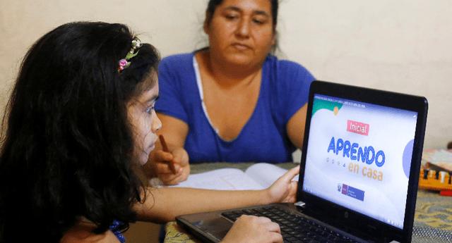 Estudiantes de educación básica continuarán con clases virtuales.