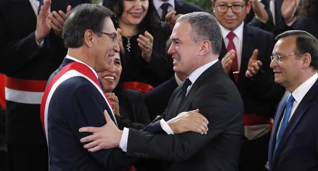Salvador del Solar fue presidente del Consejo de Ministros durante el Gobierno de Martín Vizcarra.