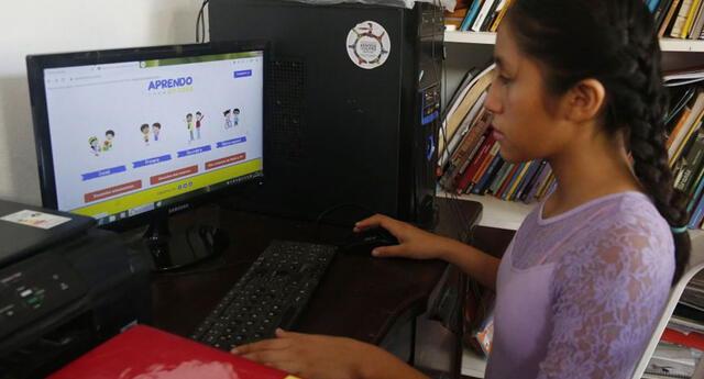 Desde el 2020, los estudiantes están bajo la modalidad virtual debido a la pandemia del coronavirus.