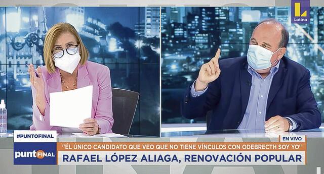 Latina se solidariza con Mónica Delta tras ataques de Rafael López Aliaga.