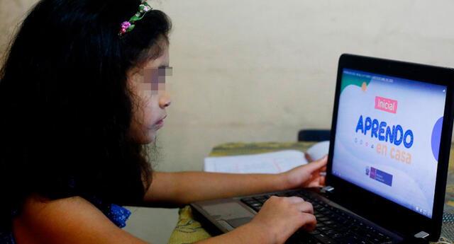 Las clases de Aprendo en casa se transmitirán a partir del 19 de abril a través de TVPerú y Radio Nacional.evisión