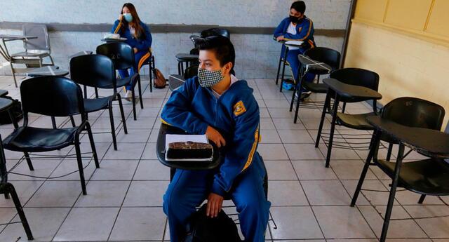 Minedu revela protocolo para las instituciones ante inicio de clases presenciales.