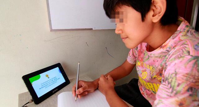 Ya se encuentra habilitada la plataforma de Aprendo en Casa para las clases virtuales.