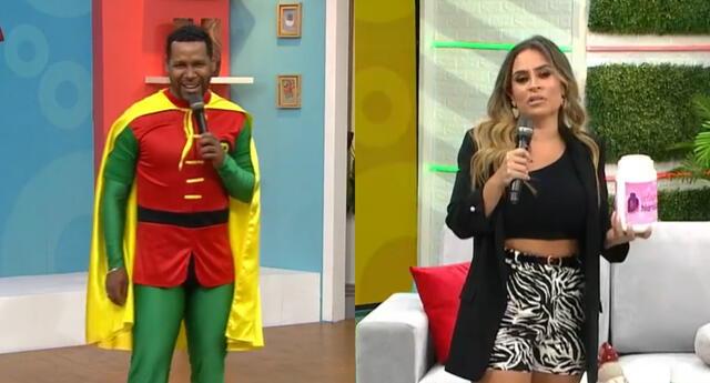 Aún no sabe cuándo volverá Gisela Valcárcel a la TV, pero Giselo jura que estará a su lado.