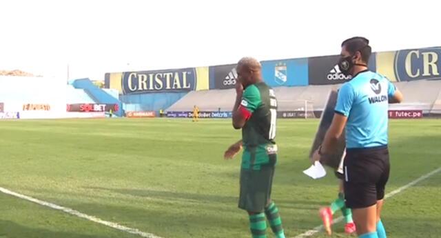 Jefferson Farfán ingresó en el segundo tiempo del Alianza Lima vs Municipal por la Liga 1.