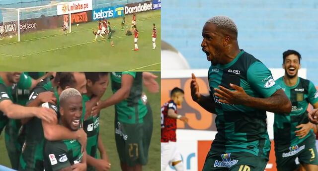 Jefferson Farfán conectó de cabeza para darle la victoria a Alianza Lima.