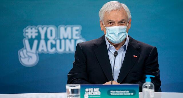 El gobierno indicó que se han vacunado contra el coronavirus a casi 7 millones de personas en Chile.