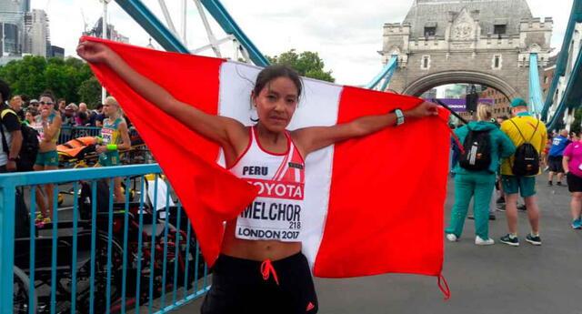 Inés Melchor desea representar al Perú en Tokio 2020.