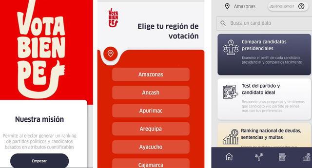 Aplicativo ayudará a informar a la población antes de emitir su voto.