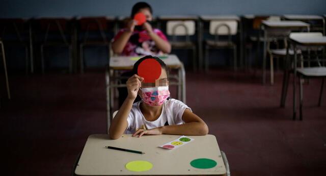 Las clases presenciales se iniciarán el 19 de abril en algunos colegios a nivel nacional.