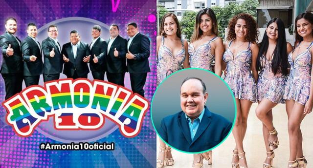 Armonía 10 y Corazón Serrano serán los artistas invitados al cierre de campaña de Rafael López Aliaga, y esto ha dado que hablar en redes sociales.