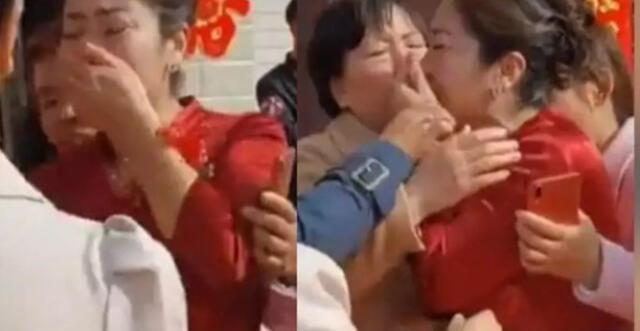 China: Descubre en la boda de su hijo que su futura nuera era la hija que perdió hace 20 años
