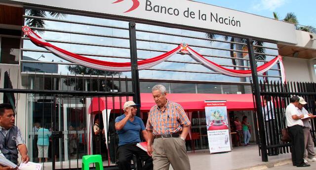 Cronograma de pagos del Banco de la Nación - Abril