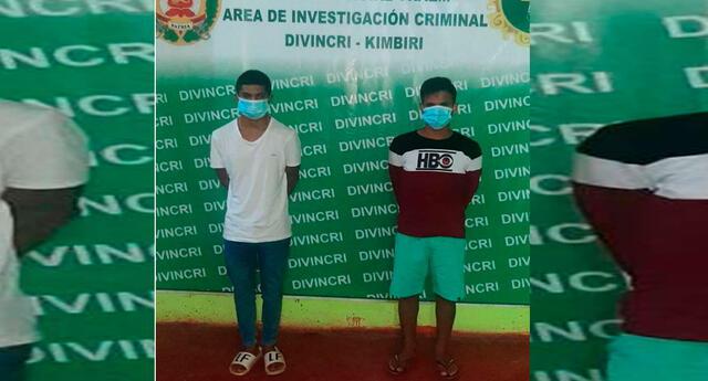 Los detenidos son interrogados en Divincri Cusco