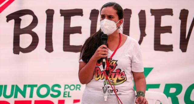 Mendoza señaló que de llegar a Palacio de Gobierno la primera alianza que hará será con las familias peruanas a fin de evitar otros cinco años de sufrimiento e incertidumbre a causa de la crisis política.