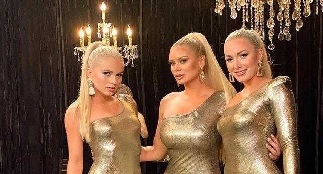Dailyn Curvelo reaparece en televisión junto a sus hermanas.