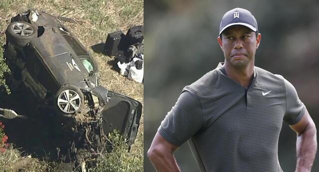 El mensaje de Tiger Woods luego del accidente con su vehículo.